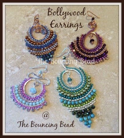 Bollywood Earrings - Sue 2