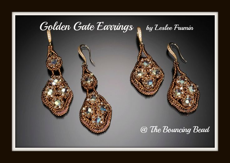 Golden Gate Earrings 1F