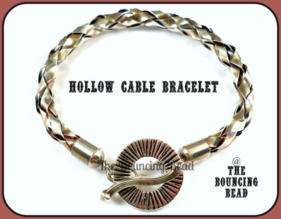 Hollow Cable Bracelet 1F