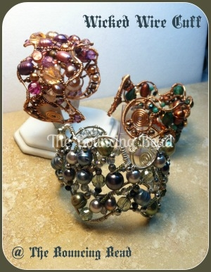 Wicked Wire Cuff 2F - NEW