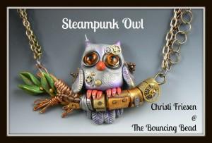 Steampunk Owl 1F