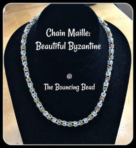 Chain Maille Beautiful Byzantine - F