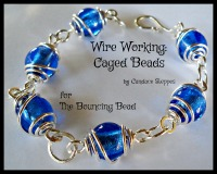 Wire Working - Caged Beads - F