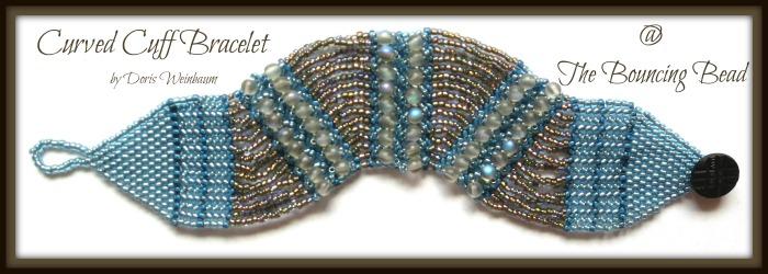 Curved Cuff Bracelet - F